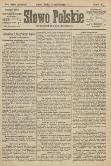 Słowo Polskie (wydanie poranne). 1900, nr484