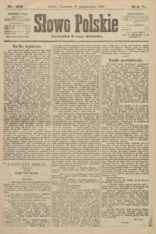 Słowo Polskie. 1900, nr485