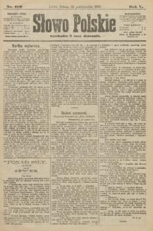 Słowo Polskie. 1900, nr489