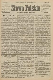 Słowo Polskie. 1900, nr491