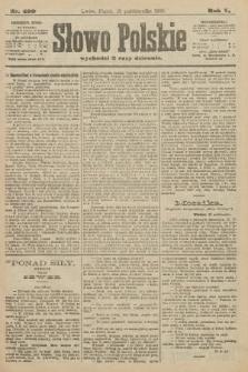 Słowo Polskie. 1900, nr499