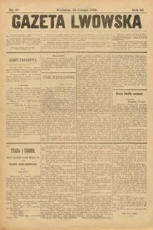 Gazeta Lwowska. 1899, nr 40