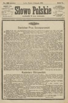 Słowo Polskie (wydanie poranne). 1900, nr511
