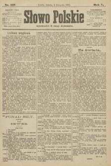 Słowo Polskie. 1900, nr512