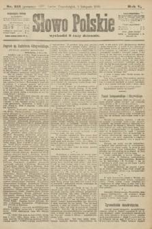 Słowo Polskie (wydanie poranne). 1900, nr515