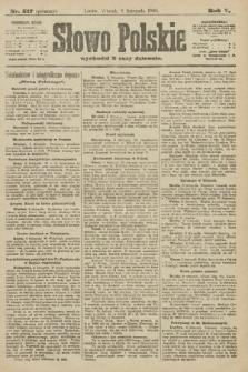 Słowo Polskie (wydanie poranne). 1900, nr517