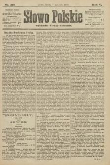 Słowo Polskie. 1900, nr518