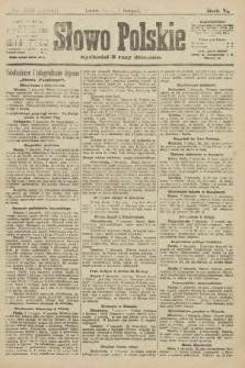 Słowo Polskie (wydanie poranne). 1900, nr519