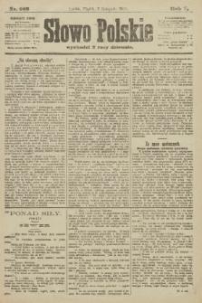 Słowo Polskie. 1900, nr522
