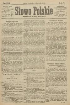Słowo Polskie. 1900, nr526