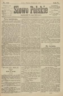Słowo Polskie. 1900, nr528