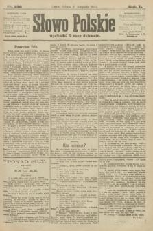 Słowo Polskie. 1900, nr536