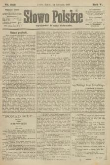 Słowo Polskie. 1900, nr548