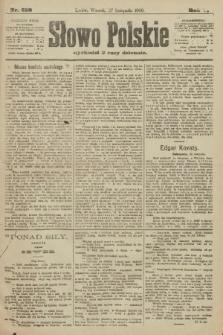 Słowo Polskie. 1900, nr552
