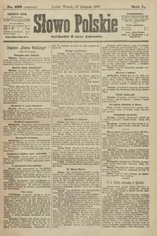 Słowo Polskie (wydanie poranne). 1900, nr553