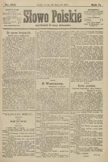 Słowo Polskie. 1900, nr554