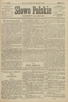 Słowo Polskie. 1900, nr556
