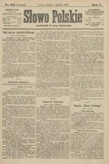Słowo Polskie (wydanie poranne). 1900, nr561