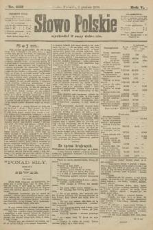 Słowo Polskie. 1900, nr562