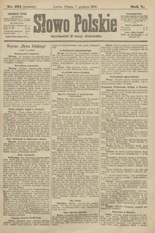 Słowo Polskie (wydanie poranne). 1900, nr571