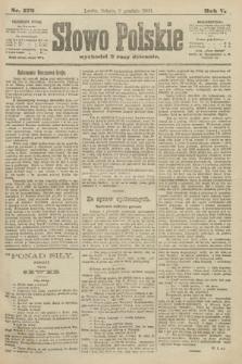 Słowo Polskie. 1900, nr572