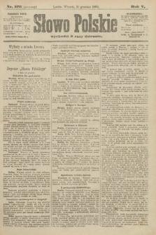 Słowo Polskie (wydanie poranne). 1900, nr576