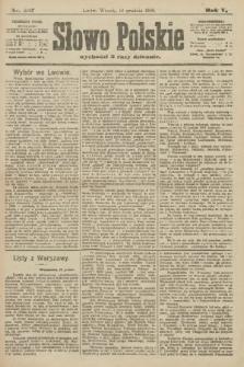 Słowo Polskie. 1900, nr587