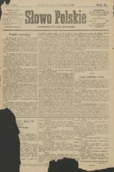 Słowo Polskie. 1900, nr605