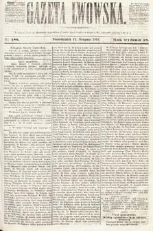Gazeta Lwowska. 1868, nr188