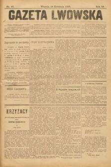 Gazeta Lwowska. 1899, nr 87