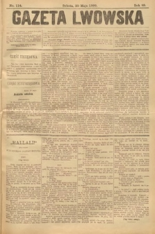 Gazeta Lwowska. 1899, nr 114