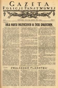 Gazeta Policji Państwowej. 1921, nr11