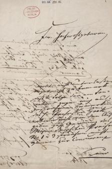 Berol. Ms. Autographen-Sammlung, Bach A. W.