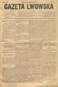 Gazeta Lwowska. 1899, nr 142