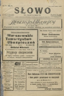 Słowo. 1925, nr1