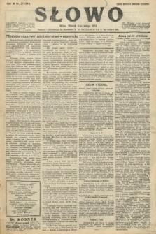 Słowo. 1925, nr27
