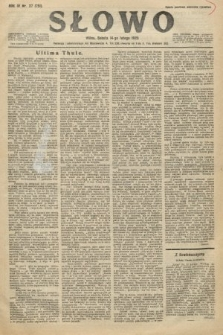Słowo. 1925, nr37