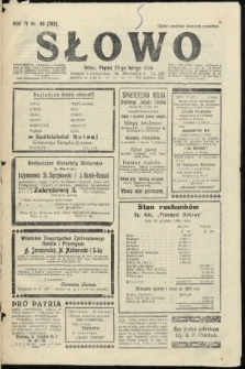 Słowo. 1925, nr48