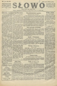 Słowo. 1925, nr63