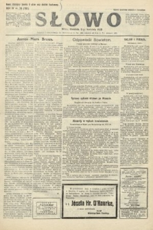 Słowo. 1925, nr78