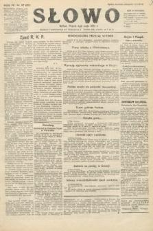 Słowo. 1925, nr97