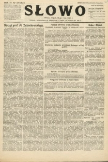 Słowo. 1925, nr109