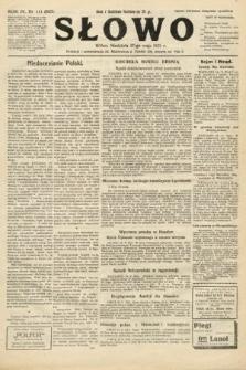 Słowo. 1925, nr111