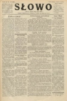 Słowo. 1925, nr153