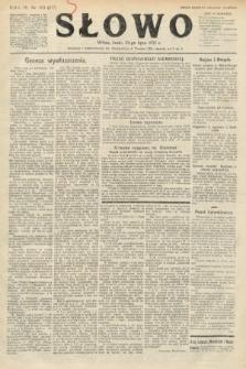 Słowo. 1925, nr163