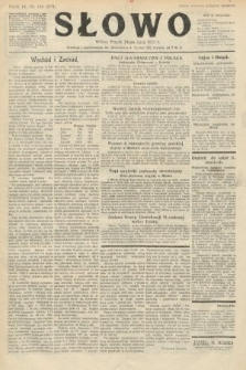 Słowo. 1925, nr165