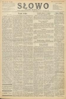 Słowo. 1925, nr177