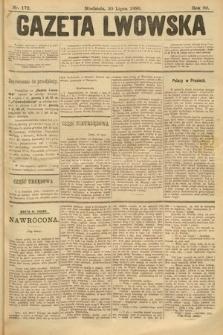 Gazeta Lwowska. 1899, nr 172