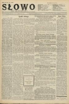 Słowo. 1925, nr276
