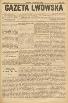 Gazeta Lwowska. 1899, nr 177